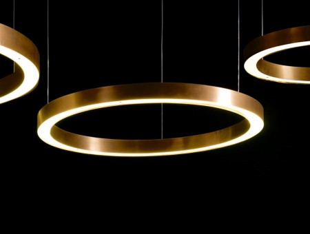 LED Pendelleuchte Light-Ring 19W
