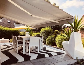 Moderner Loungebereich Outdoor